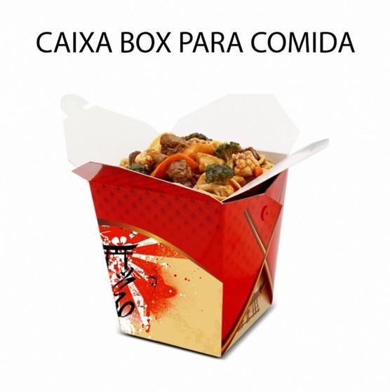Caixa Comida Delivery Valor Santana de Parnaíba - Caixa Delivery