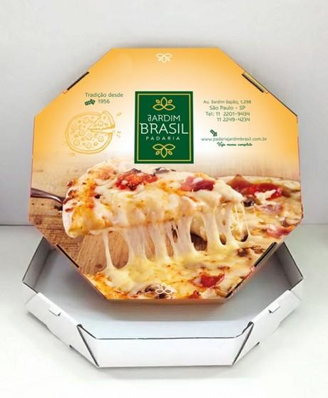 Caixa de Delivery para Esfiha Valor Macedo - Caixa Comida Delivery