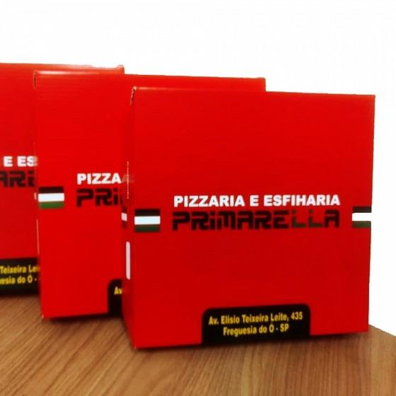 Comprar Embalagem de Pizza Chácara do Piqueri - Embalagem Caixa de Pizza