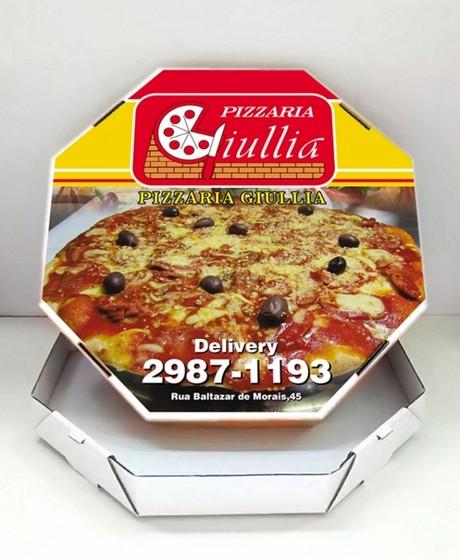 Embalagem Caixa de Pizza Preço Tremembé - Embalagem de Pizza Personalizada