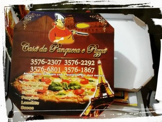 Embalagem de Pizza Personalizada Parque do Chaves - Embalagem Pizza