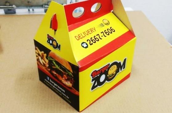 Embalagem Hambúrguer Personalizada Valor Santana de Parnaíba - Embalagem Hambúrguer Personalizada