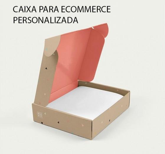 Embalagem Personalizada E-commerce Valor Vila Endres - Embalagem Caixa Personalizada