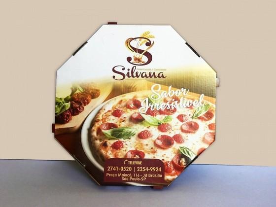 Embalagem Pizza Brotinho Preço Itaquaquecetuba - Embalagem para Pizza Personalizada