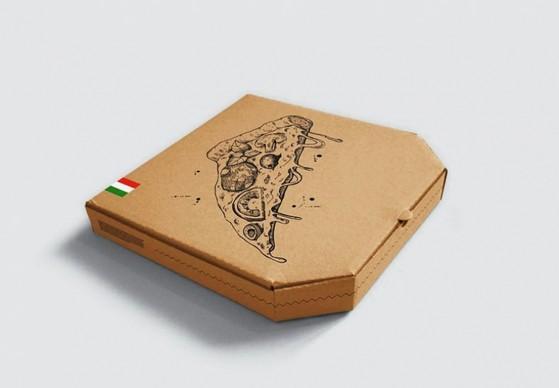 Embalagem Pizza Brotinho Vila Mazzei - Embalagem Pizza