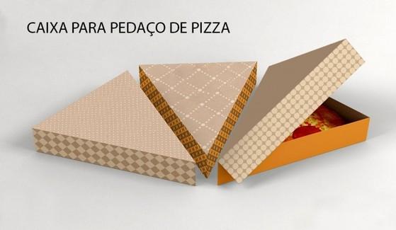 Embalagem Pizza Fatia Cotia - Embalagem de Pizza Brotinho