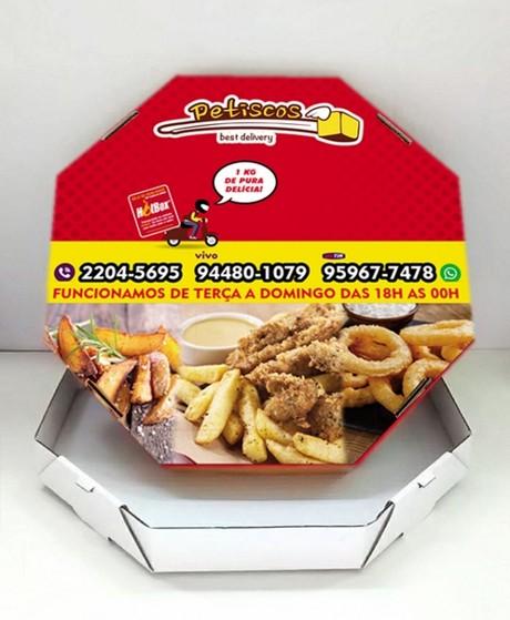Embalagens Caixa de Pizza Taboão da Serra - Embalagem Pizza