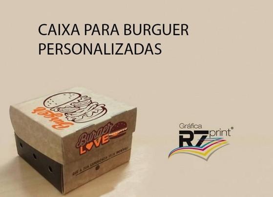 Embalagens de Hambúrguer Personalizadas Vila Endres - Embalagem Hambúrguer Personalizada