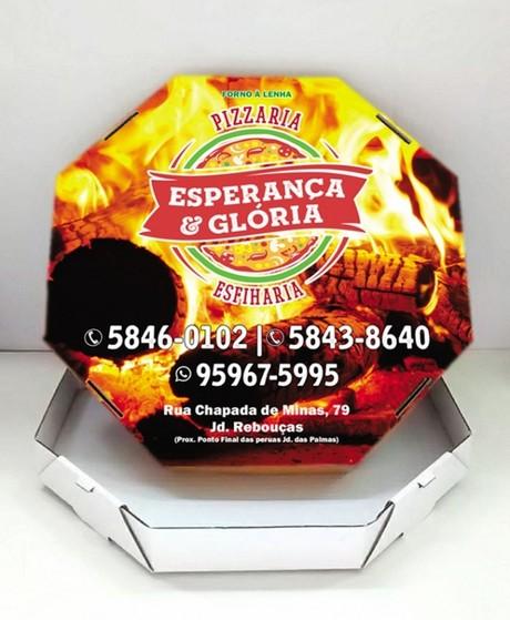 Embalagens de Pizza Personalizadas Vila Prudente - Embalagem Caixa de Pizza