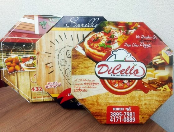Embalagens para Pizza Chácara do Piqueri - Embalagem Pizza