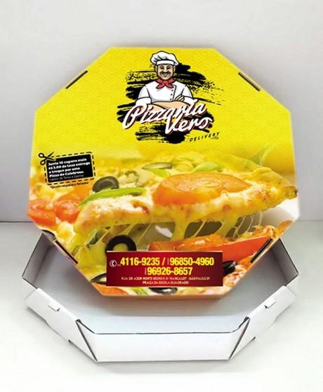 Embalagens Pizza Fatia Ferraz de Vasconcelos - Embalagem para Pizza Brotinho