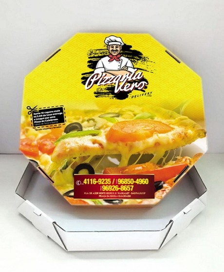 Embalagens Pizza Fatia Itaquera - Embalagem Pizza Brotinho