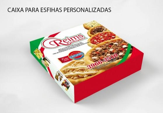Onde Compro Caixa de Delivery para Esfiha São Lourenço da Serra - Caixa para Comida Delivery