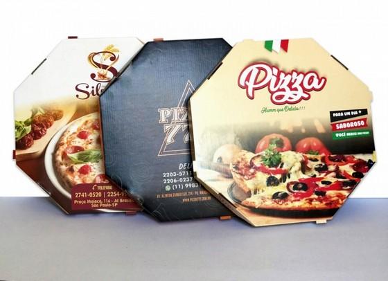 Quanto Custa Embalagem para Pizza Freguesia do Ó - Embalagem Caixa de Pizza