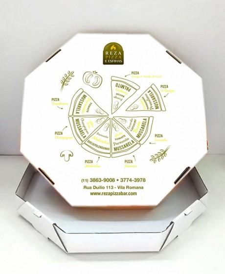 Quanto Custa Embalagem Pizza Brotinho Embu Guaçú - Embalagem para Pizza Personalizada