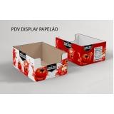 caixa de papelão personalizada Cotia