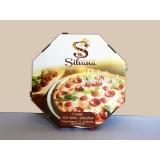 caixa de pizza oitavada para comprar Anália Franco