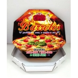 caixa de pizza personalizada Caieiras