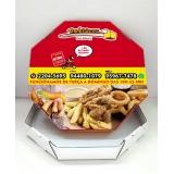 caixa para pizza personalizada preços Tremembé