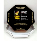 caixa para pizza personalizada Pompéia