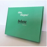 caixa personalizada com logomarca preços Parque Cecap