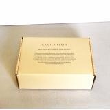 caixa personalizada embalagem valor Vila Mazzei