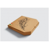 caixa de entregar pizza