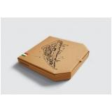 caixa para entregar pizza