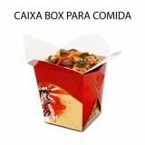 caixa para comida delivery