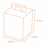 caixa panetone personalizada
