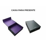 caixas personalizadas com logomarca Embu das Artes