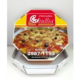 embalagem caixa de pizza preço Vila Marisa Mazzei