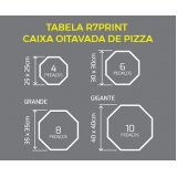 embalagem para pizza brotinho Franco da Rocha