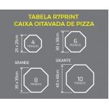 embalagem para pizza brotinho Vila Albertina