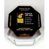 embalagem para pizza personalizada preço Brasilândia