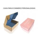embalagem personalizada para e-commerce valor Santana