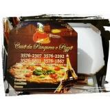 embalagens de pizza Parque Anhembi