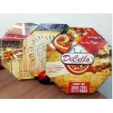 embalagens para pizza Parque São Rafael