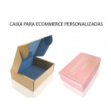 embalagens personalizadas e-commerce Jardim Guarapiranga