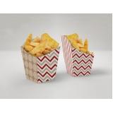 embalagens personalizadas para fast food Carandiru
