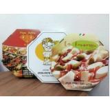 preço de caixa de pizza oitavada Vila Barros