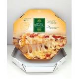 quanto custa embalagem pizza fatia Aeroporto de Guarulhos