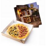 valor de caixa de pizza personalizada Itaquera