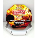 valor de caixa para pizza Anália Franco