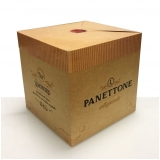venda de caixa panetone personalizada Tremembé